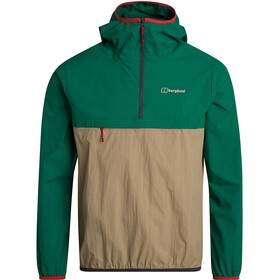 Berghaus Corbeck Wind Smock Men, lush meadow/cornstalk